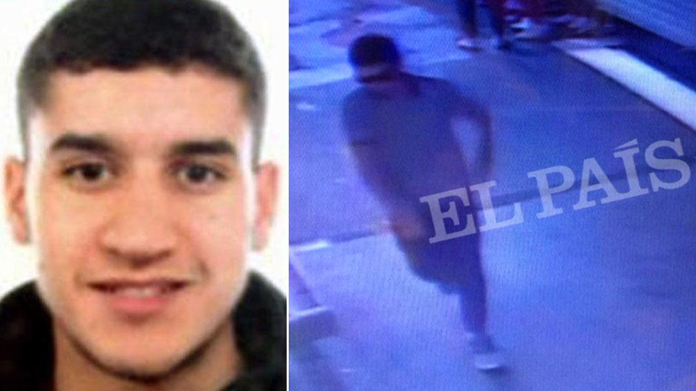 Barcelona terror suspect 'shot'