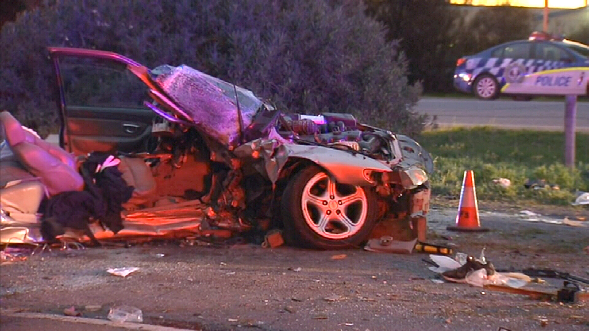 The death brings the state's road toll to 61, up 10 from the same time last year. (9NEWS)