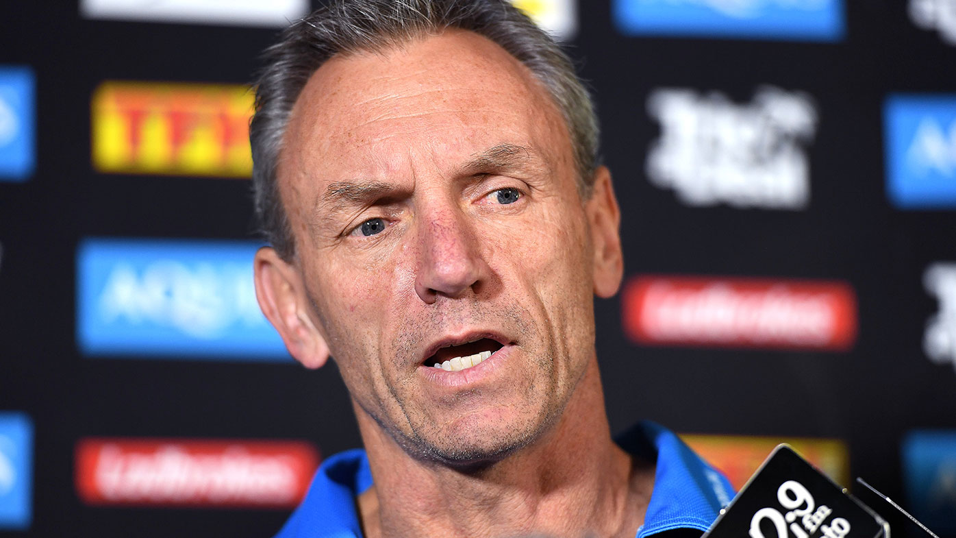 Henry speaks for the first time since being axed by Gold Coast