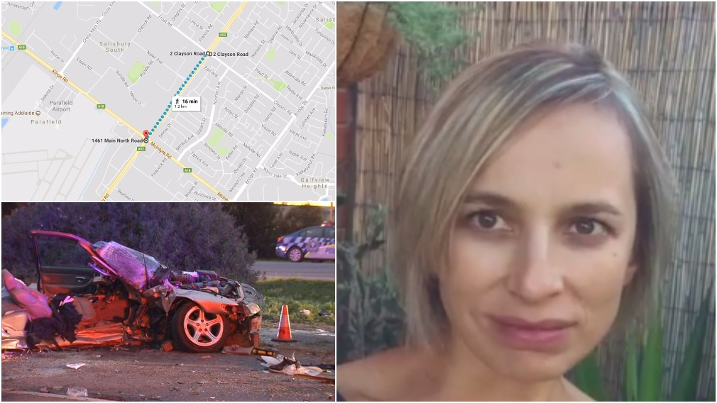 Yesterday's crash occurred just down the road from where Lucy Pavely was killed. (9NEWS)