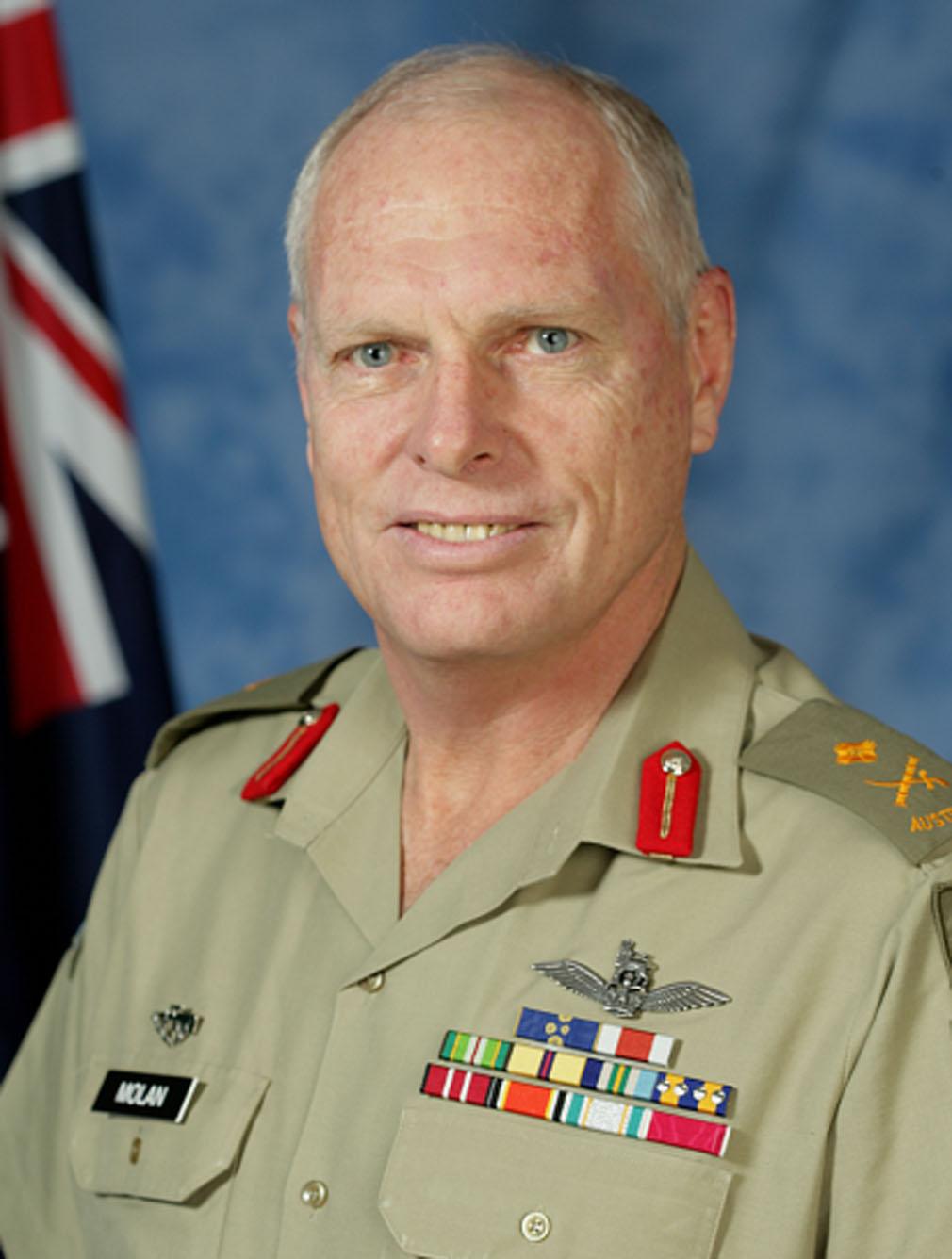 Retired Major General Jim Molan.