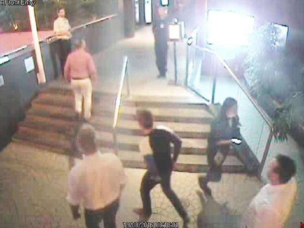 Crown Prince Frederik's entourage turned away on club CCTV