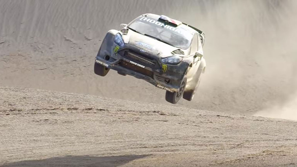 Ken Block Goes Takes His Fiesta Off-Road in 'Terrakhana'