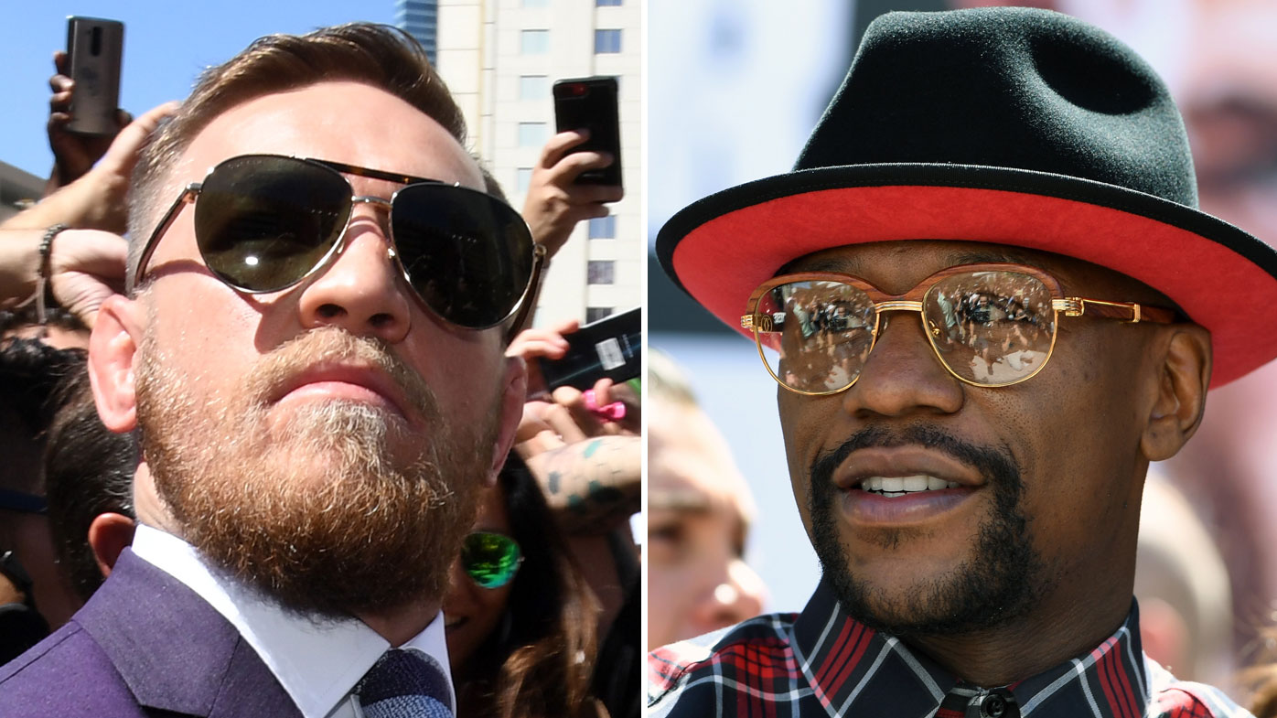 Conor McGregor's F-word threat to Floyd Mayweather