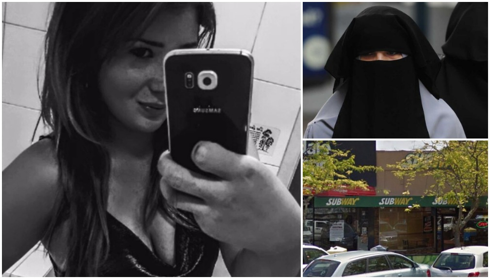 Unveiled: Woman 'in Subway burqa hold-up'