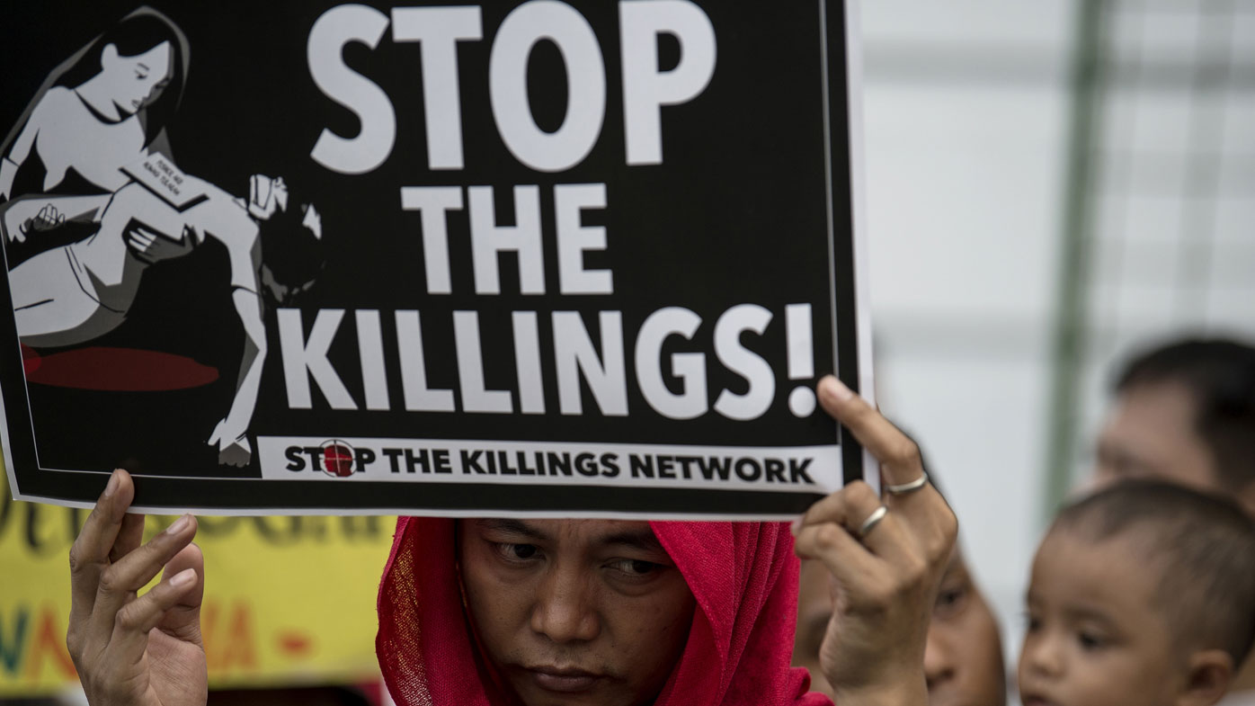 The anti-drugs campaign has been branded vigilante killings. (Photo: AFP).