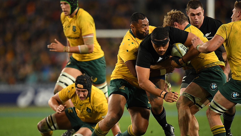 The Wallabies will be looking to bounce back in the Bledisloe Cup match against New Zealand in Dunedin. (AAP)