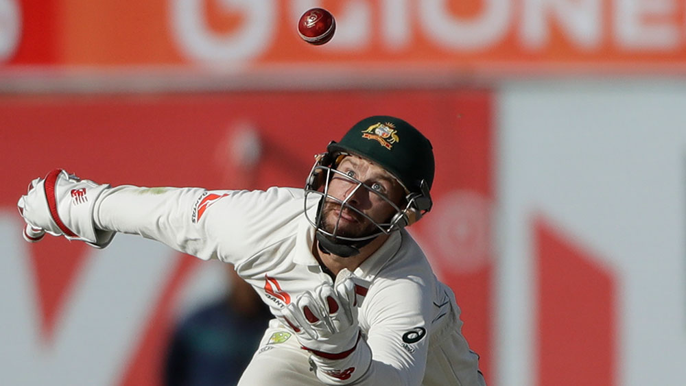 Australian wickets tumble after Nathan Lyon reaches milestone in Bangladesh