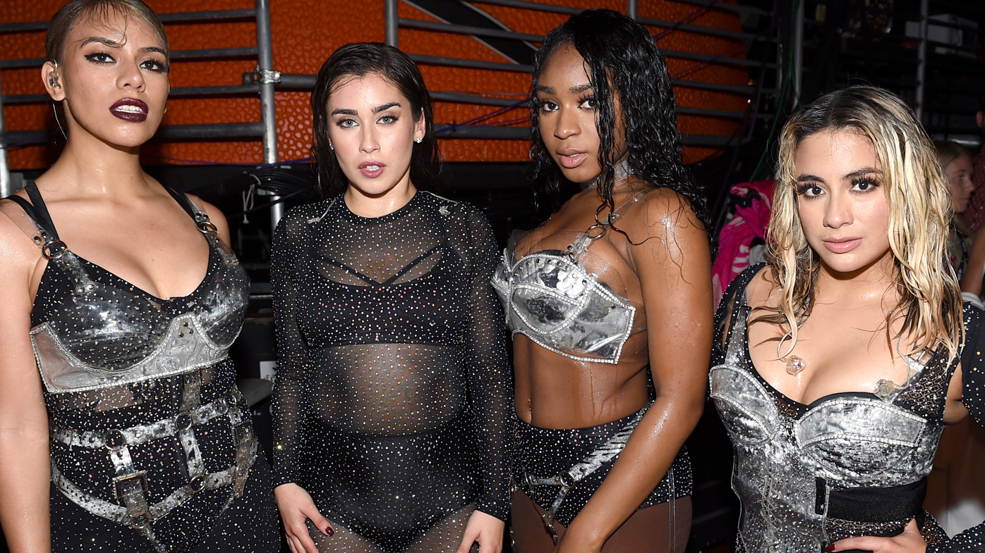 Fifth Harmony throw shade at Camila Cabello in VMAs stunt