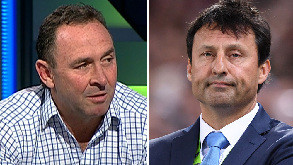 Ricky Stuart and Laurie Daley.
