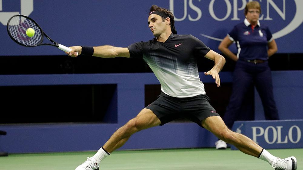 Roger Federer. (AAP)