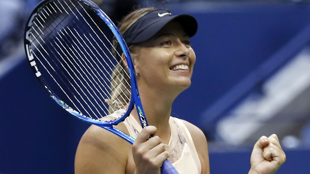 Sharapova sees off Babos to extend NY stay