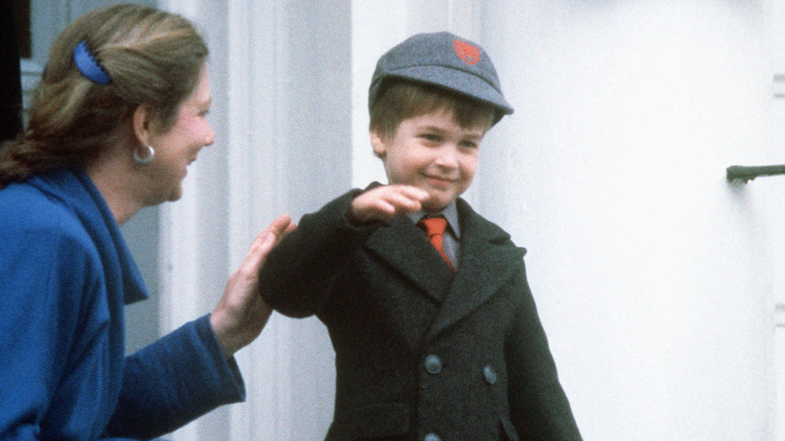 Here's How British Royals Marked Their First Days of School