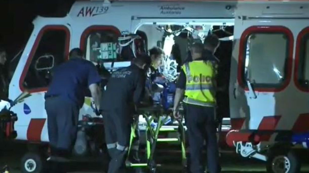 The man was found inside a car in Rosebud. (9NEWS)