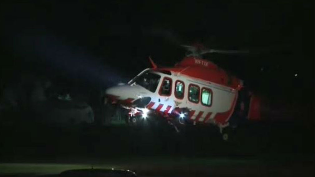The man was found with a gunshot wound to his head. (9NEWS)