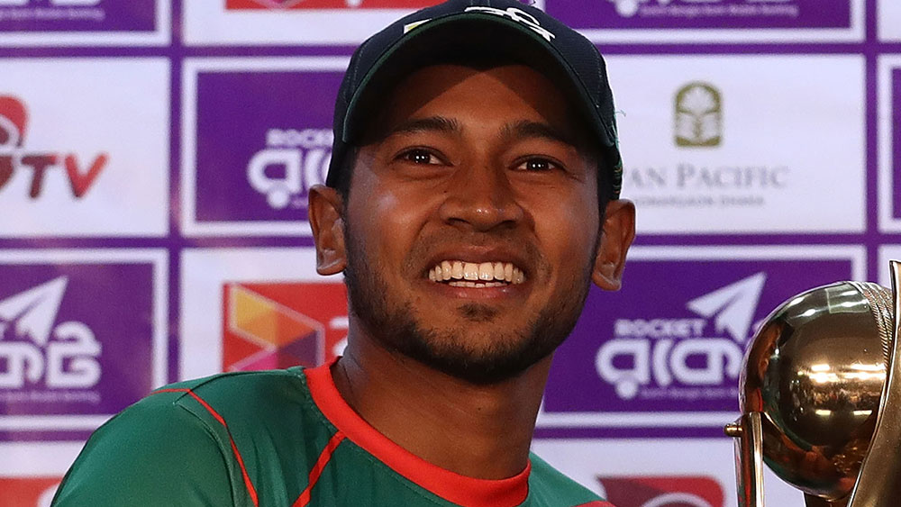 Bangladesh captain Mushfiqur Rahim. (Getty)