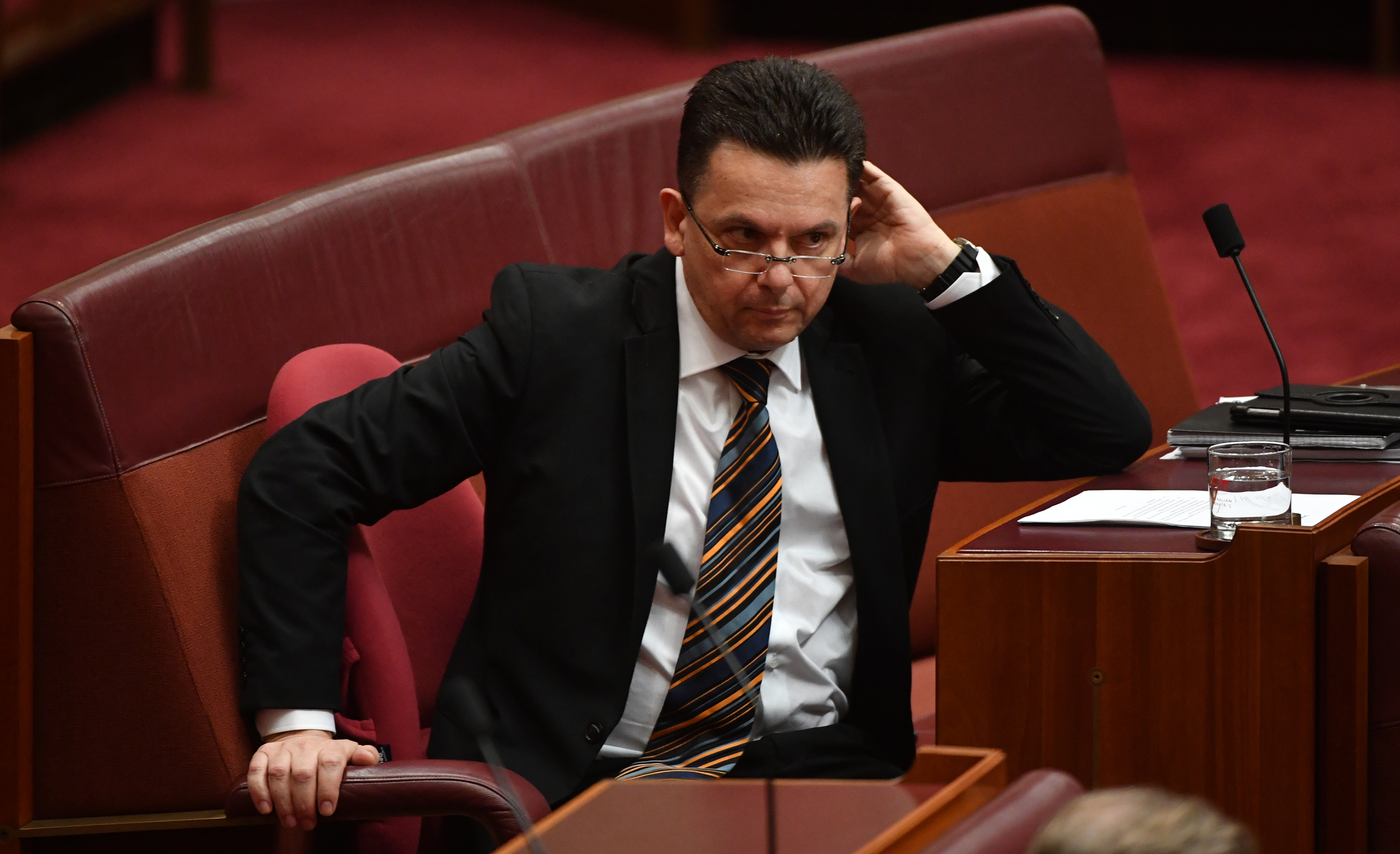 Independent senator Nick Xenophon has said Mr Joyce was not doing anything illegal. (AAP)