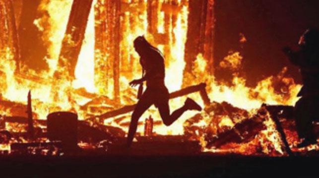 US man dies after running into Burning Man festival blaze
