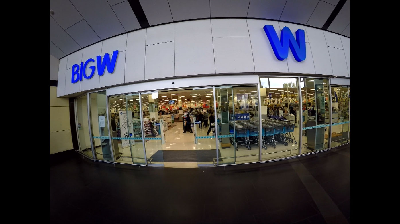 Big W posted a loss of more than $150 million last financial year.