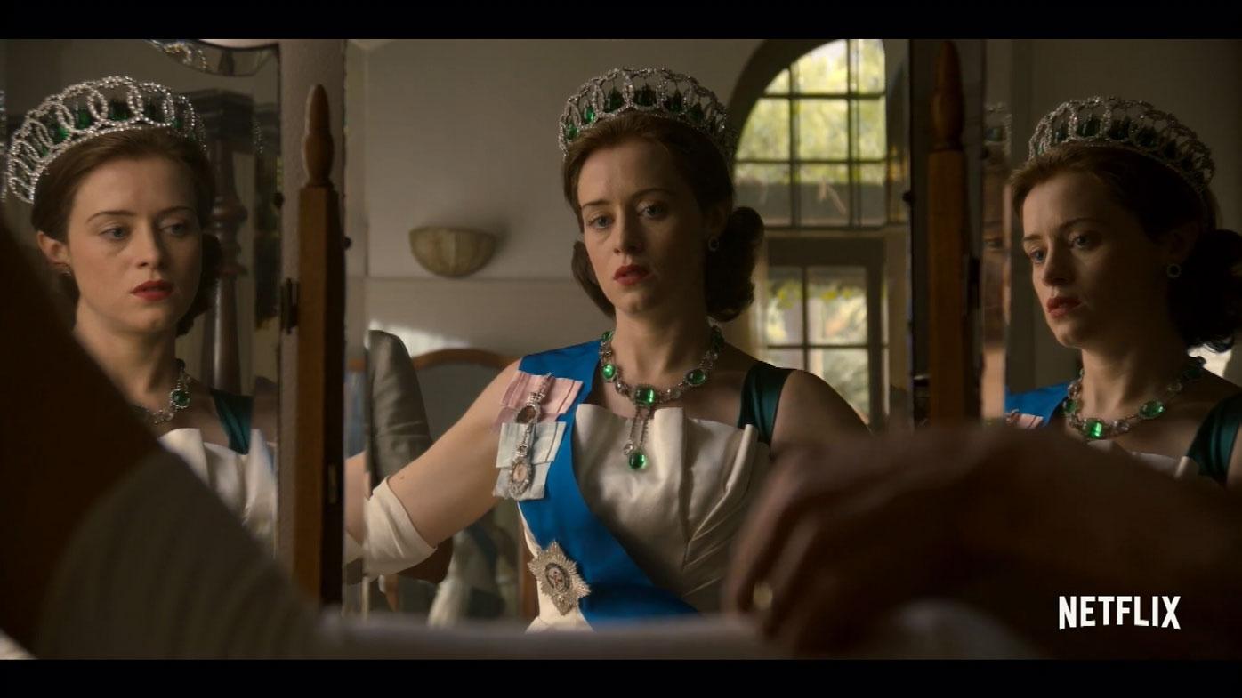 The Crown - prestige drama.