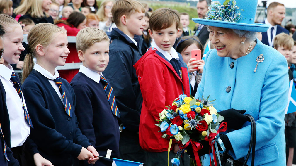 The Queen is 'delighted with the news'. (AAP)