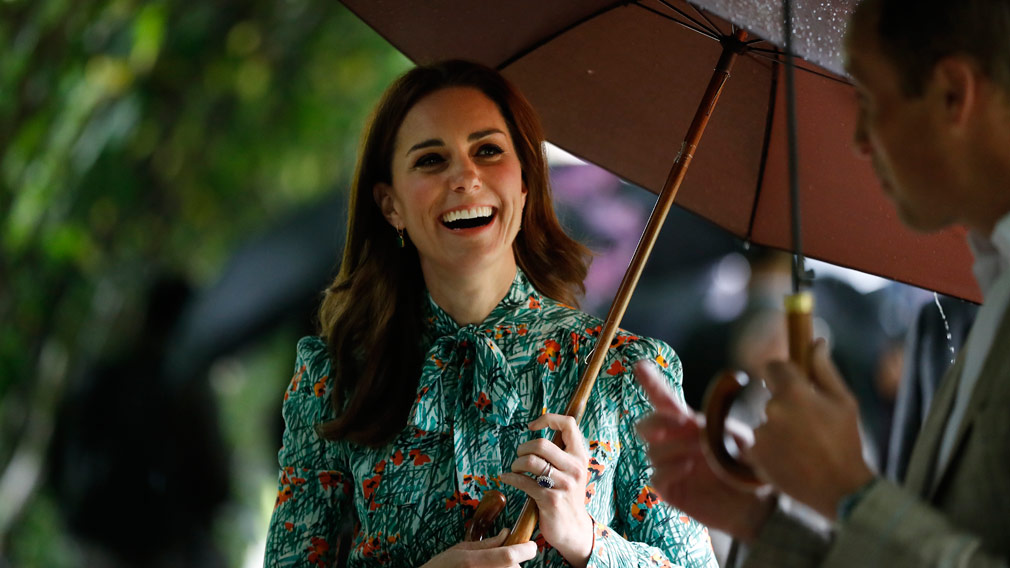 Kate attended commemorations of the 20th anniversary of Princess Diana's death last week. (AAP)