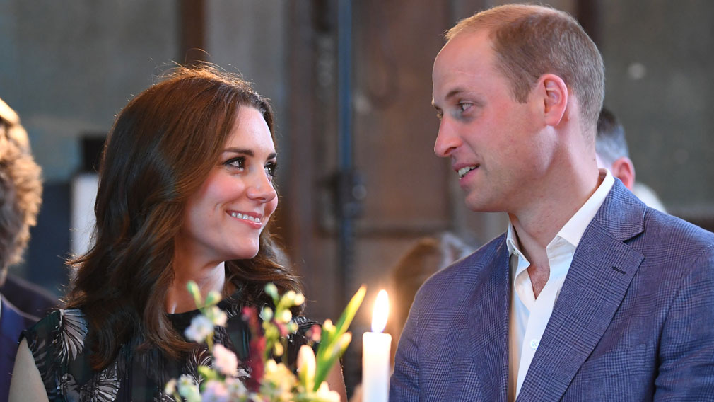 Prince Harry says William and Kate's third baby news is