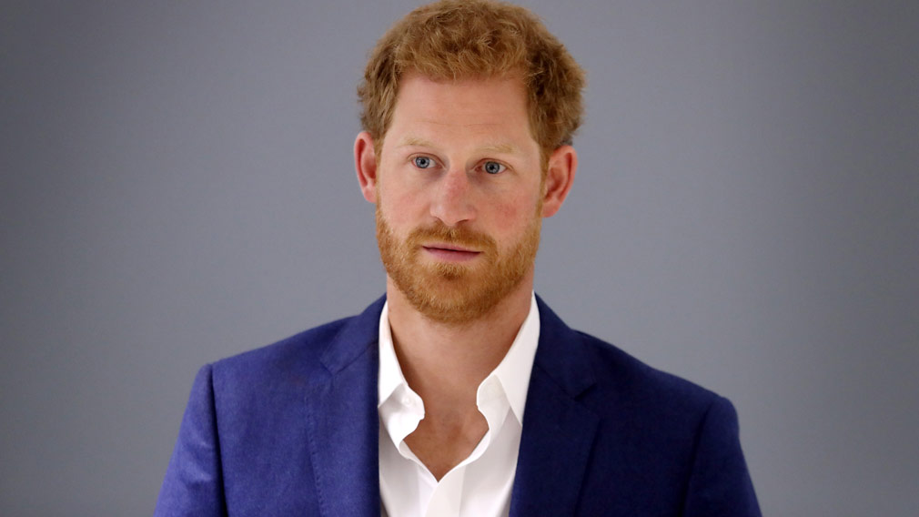 Prince Harry. (AAP)