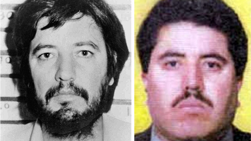 File photos of Amado Carrillo Fuentes (left) and Vicente Carrillo Fuentes. (AAP)