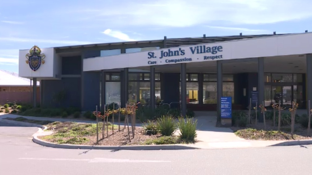 The eighth person died at St John's Retirement Village in Wangaratta. (9NEWS)