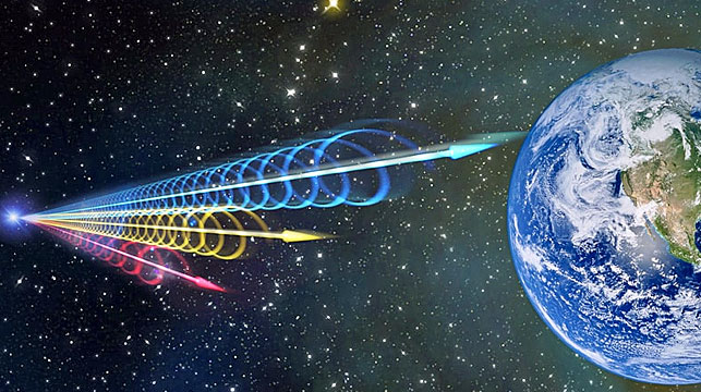 Scientists pick up radio signals from deep space