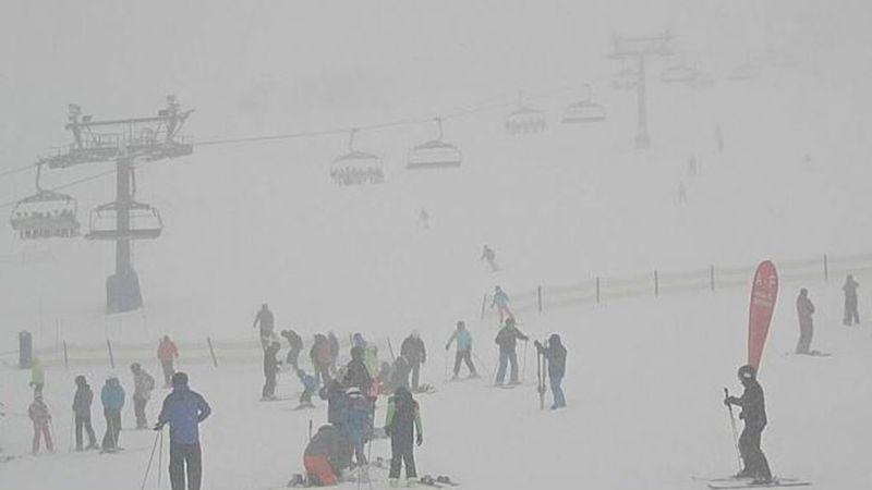 Front Valley at Perisher this morning. (Perisher Ski Resort)
