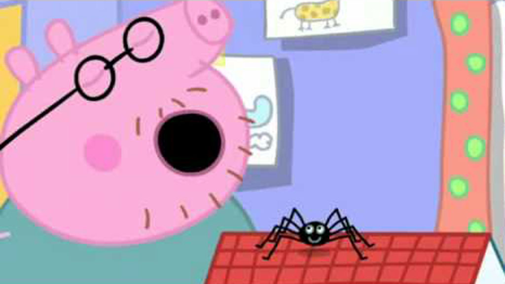 Peppa Pig episode pulled in Australia for saying 'spiders can't hurt you'