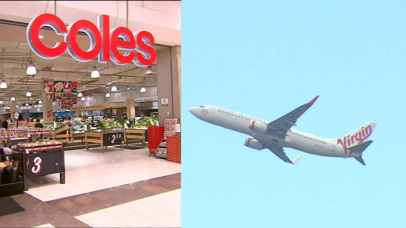 Coles is offering free flights on Virgin.