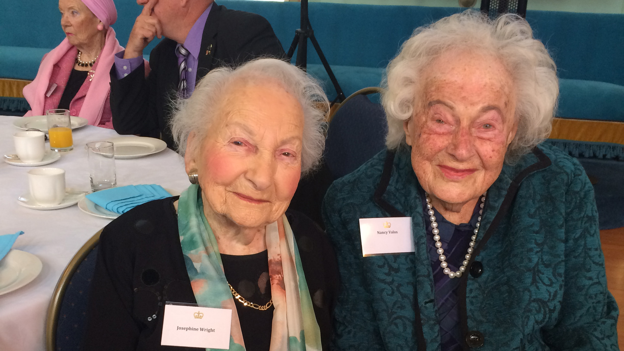Josephine Wright and Nancy Valos have been best friends since they met at school in St Kilda. (Madeline Slattery)