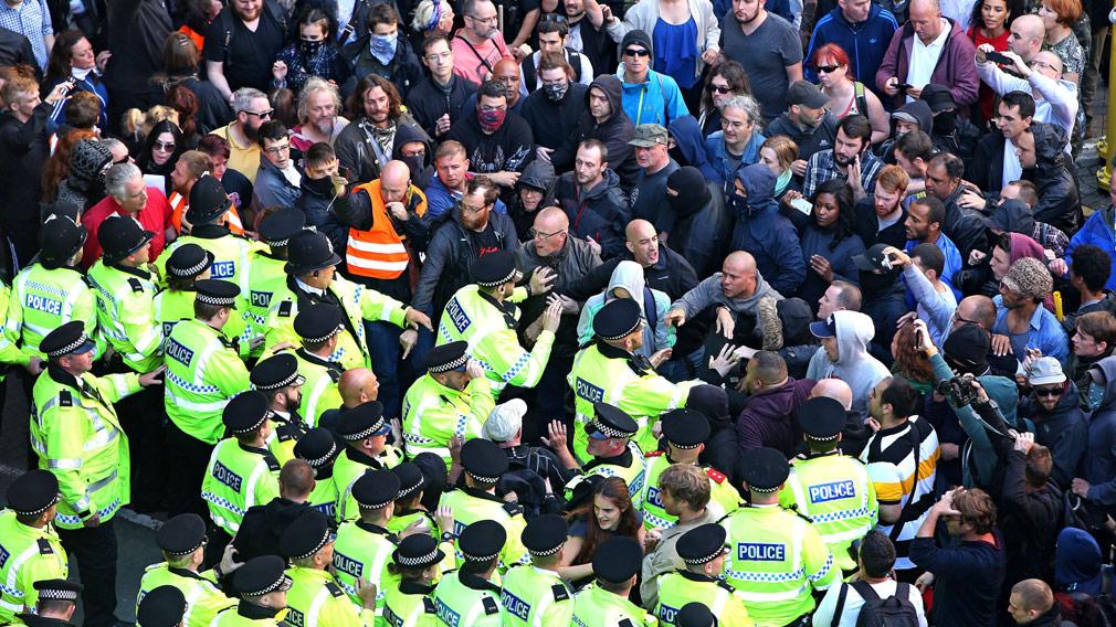 UK police arrest four people over far-right terrorism