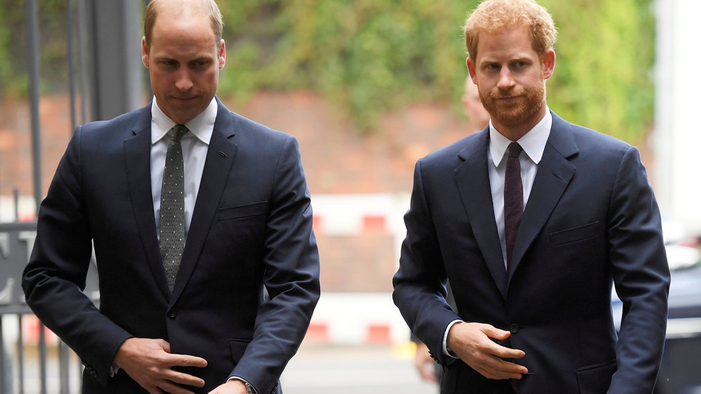 Prince William says his wife pregnancy is 'very good news'. (AAP)