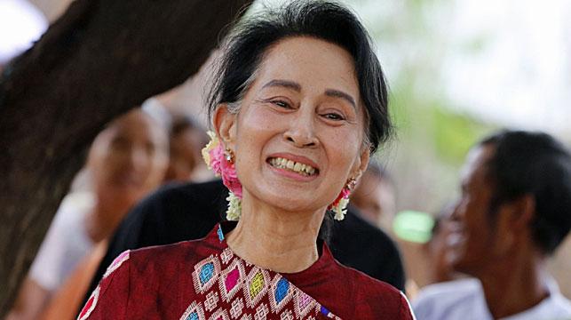 Myanmar leader Aung San Suu Kyi is facing pressure to halt violence against Muslim minorities. (Photo: AP).