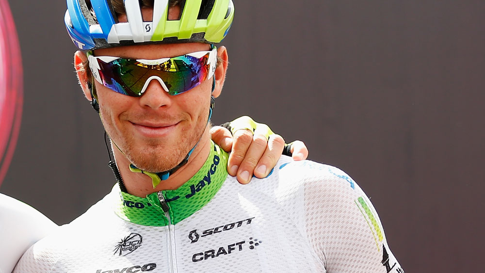 Michael Hepburn crashed heavily in the Tour of Britain. (Getty Images)