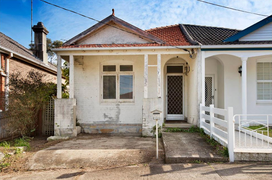 Crumbling, dilapidated Clovelly semi set to fetch more than $2 million