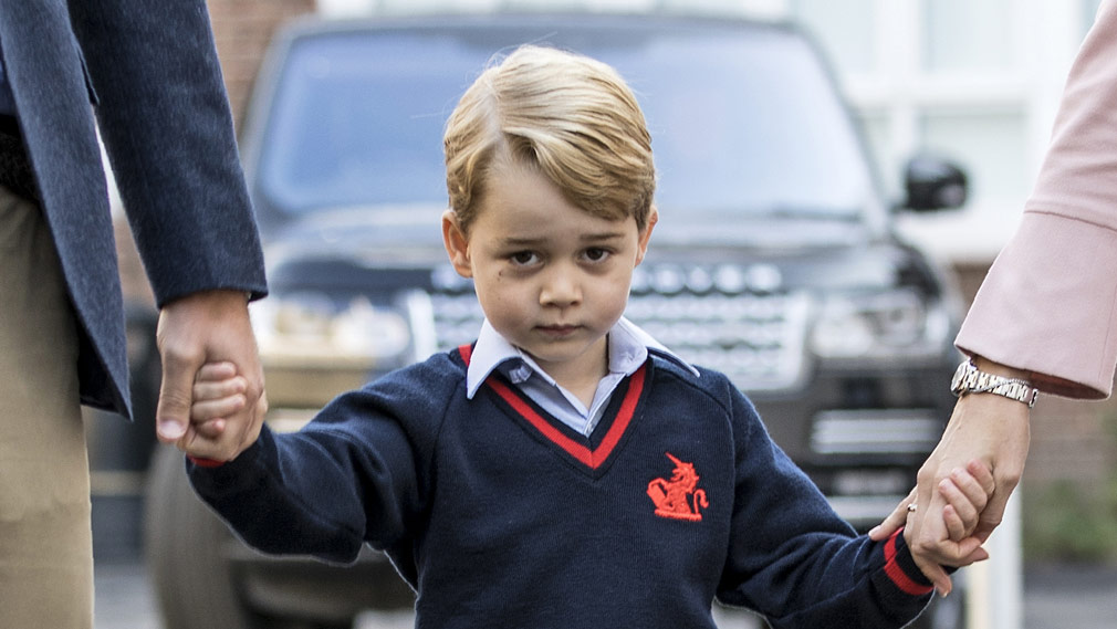 Check out the favorite movie of prince George and Gala