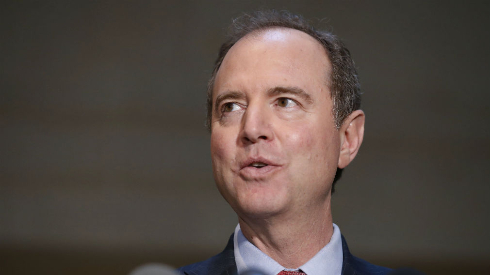 Rep. Adam Schiff, ranking member of the House Intelligence Committee, speaks after a closed meeting on Capitol Hill in Washington. Hundreds of fake Facebook accounts, probably run from Russia, spent about $100,000 on ads aimed at stirring up divisive issues such as gun control and race relations during the 2016 U.S. presidential election. (AAP)