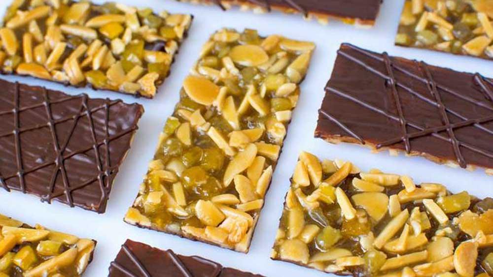 """Recipe: <a href=""""http://kitchen.nine.com.au/2017/08/11/11/32/chocolate-orange-and-cumin-florentine"""" target=""""_top"""">Chocolate, orange and cumin Florentine</a>"""