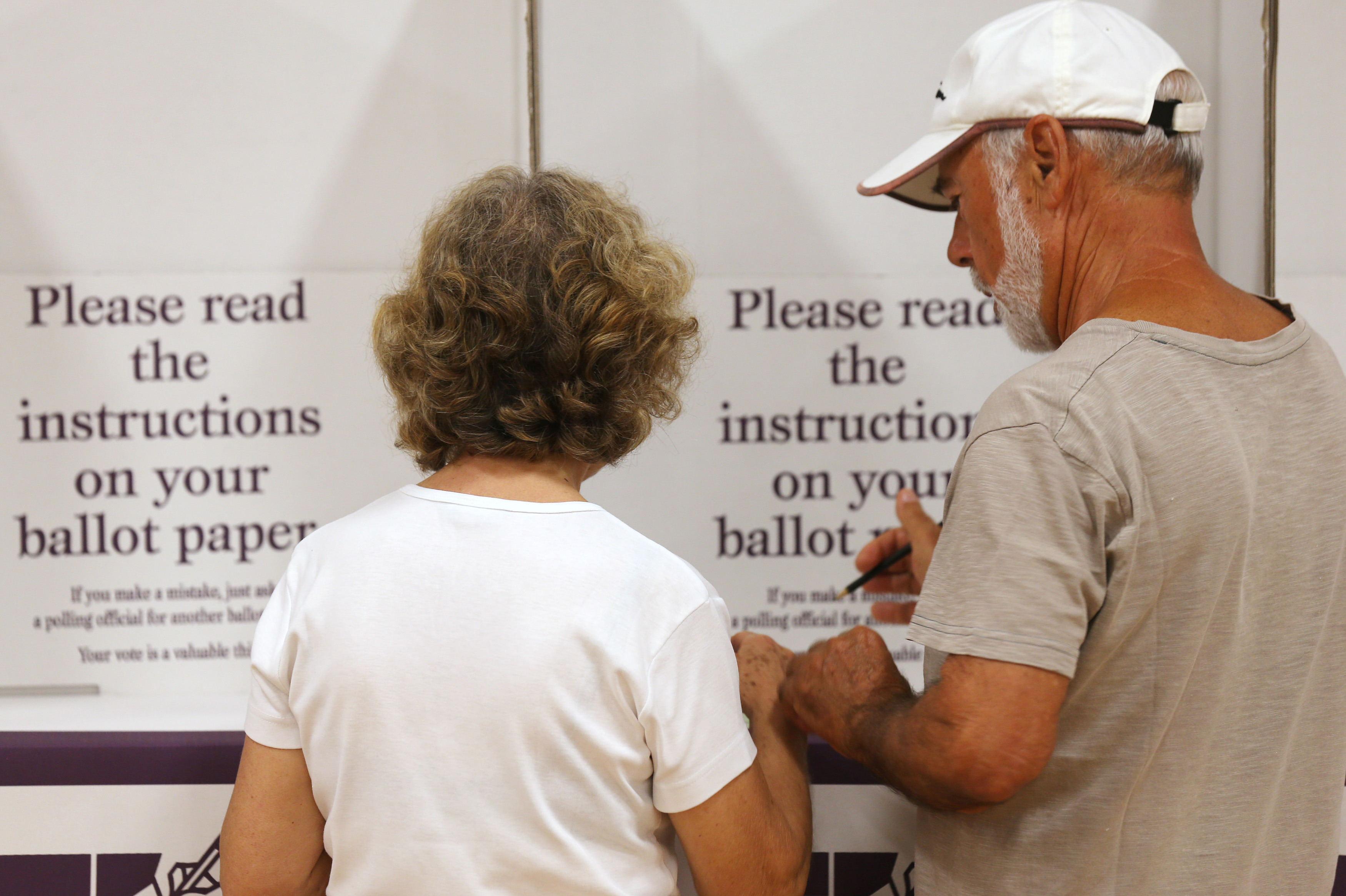 If you didn't vote for a new council last year, chances are you have to on Saturday. (AAP)