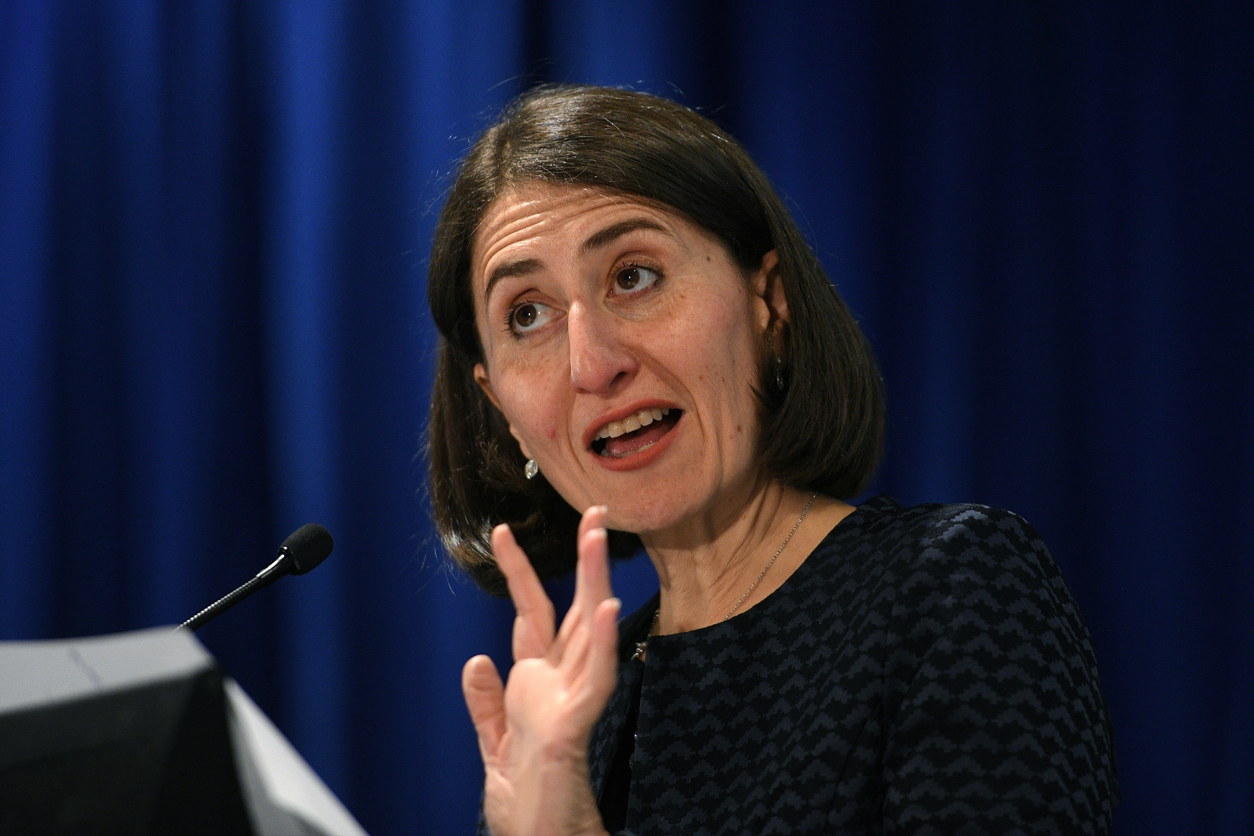 Premier Gladys Berijiklian backed down from forced mergers earlier this year. (AAP)