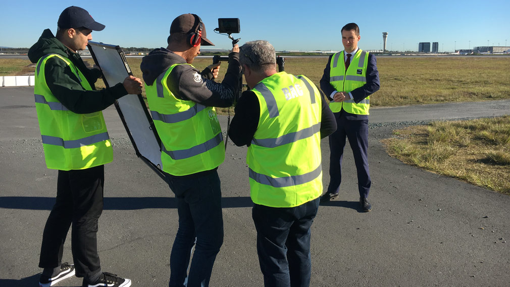 On the job with Shannon Marshall-McCormack. (Image: 9NEWS)
