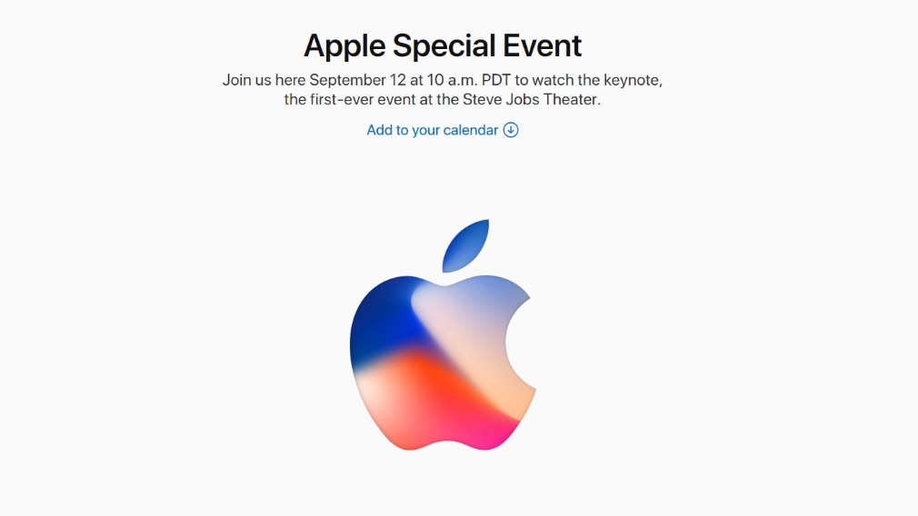 """The """"Special Event"""" will be live-streamed via the Apple website. (Apple Inc.)"""