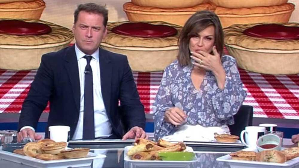 How Lisa Wilkinson eats pie