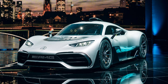 Mercedes unveils 39 project one 39 the 5 million hypercar for Mercedes benz project one