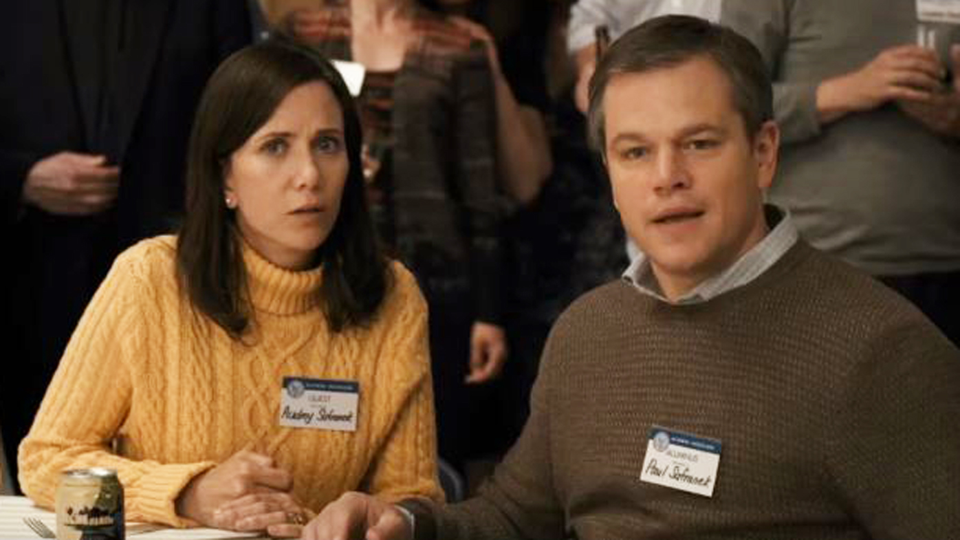 Matt Damon lives small in the trailer for sci-fi comedy Downsizing